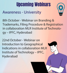 Cipam Webinars October