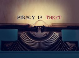 copyrights Piracy is theft image