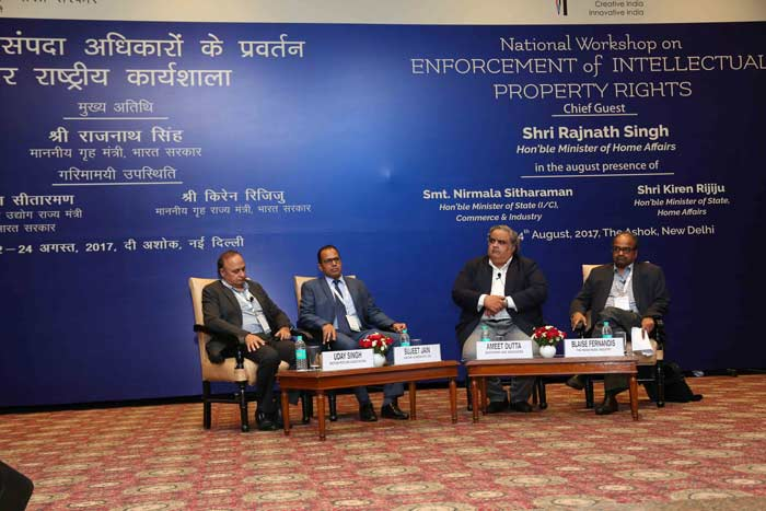 National Workshop on Enforcement of Intellectual Property Rights Image