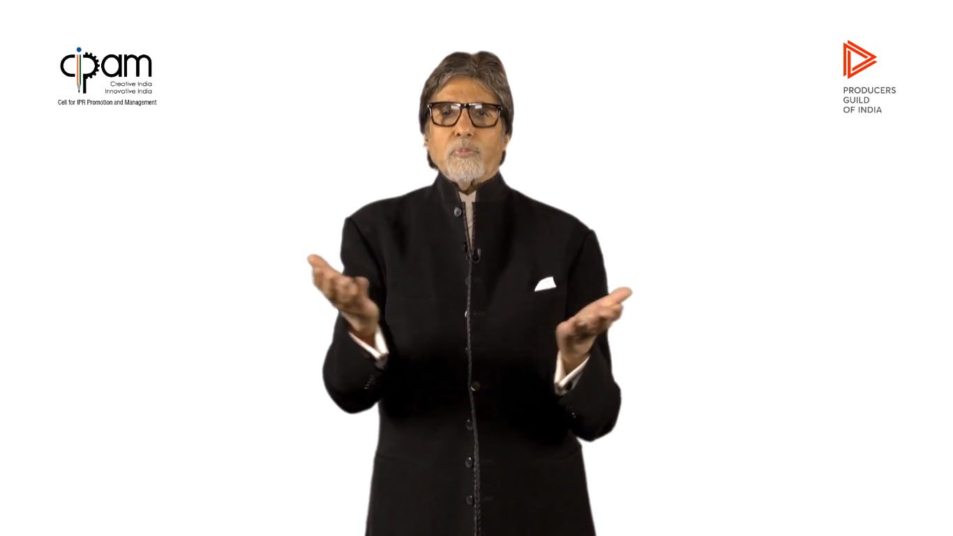 Amitabh Bachchan Says Illegally Streaming