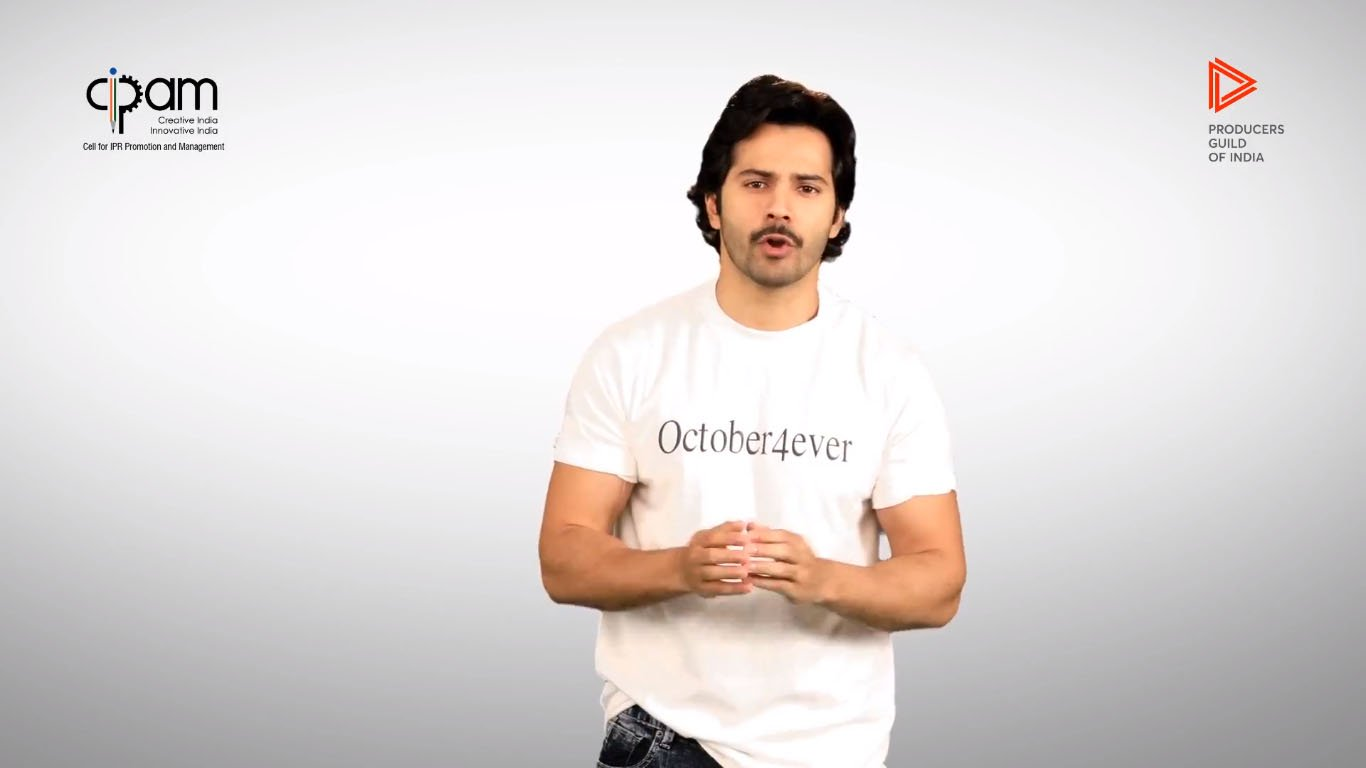 Varun Dhawan Saying No To Piracy