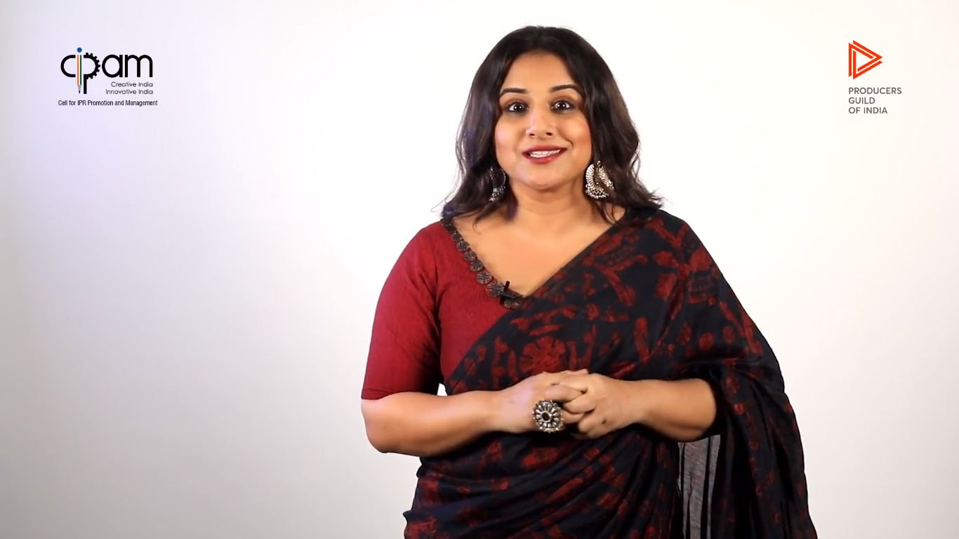Vidya Balan Anti Piracy Video