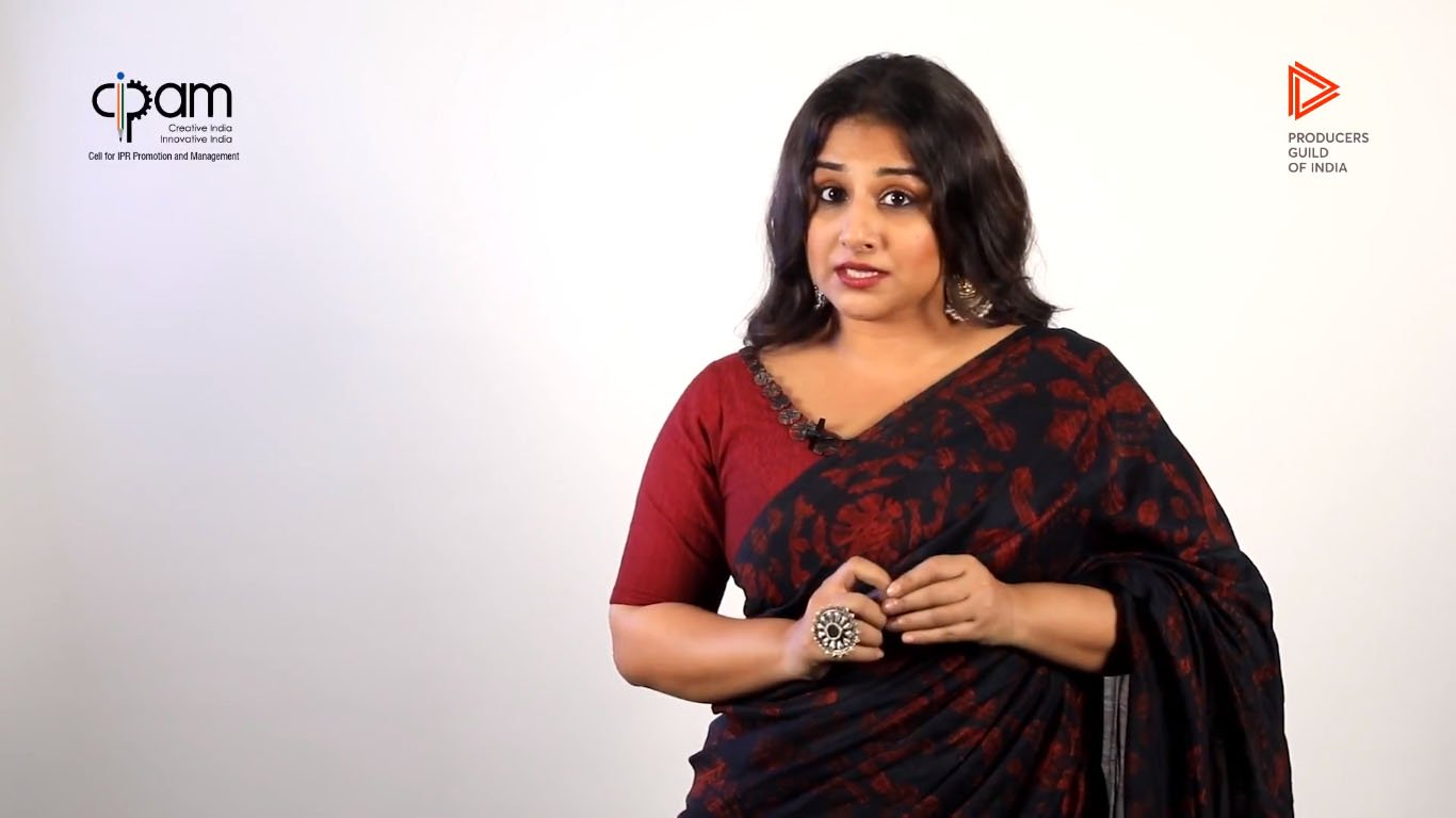 Vidya Balan Spreading Awareness On Piracy