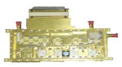 Space Applications Centre of ISRO has developed a transmit receive(TR) modüle which is very useful as both transmit and receive chains are accommodated in a sinele small housing for achieving higher gain